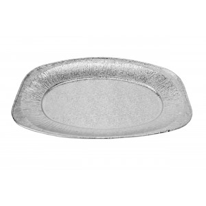 "14"" Small Aluminium Oval Foil Platters-Food Platters-Oh My Packaging"